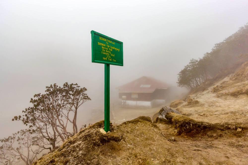 Dzongri Camp @ 4060 meters / 13320 feet